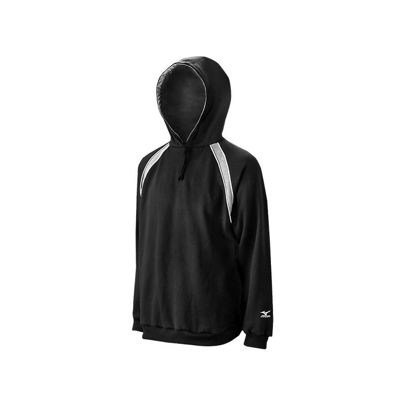 Mizuno Men's Fleece Team Hoody G3 - Black
