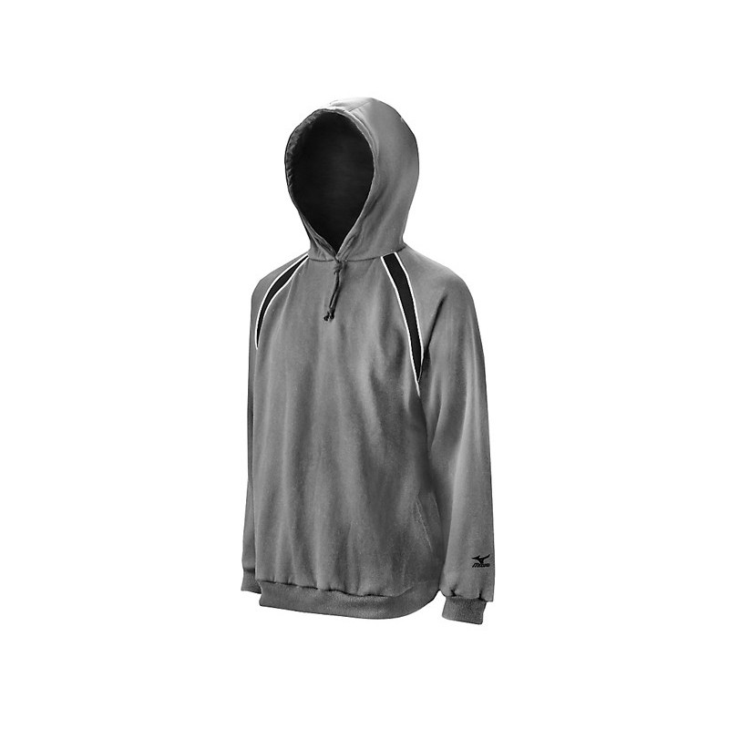 Mizuno Men's Fleece Team Hoody G3 - Grey