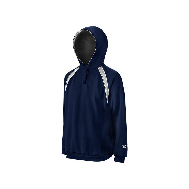 Mizuno Men's Fleece Team Hoody G3 - Navy