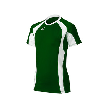Mizuno Women's Techno Volley V Short Sleeve Jersey - Forest