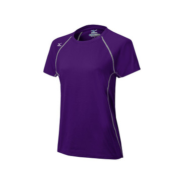 Mizuno Women's Balboa 3.0 Short Sleeve Jersey - Purple