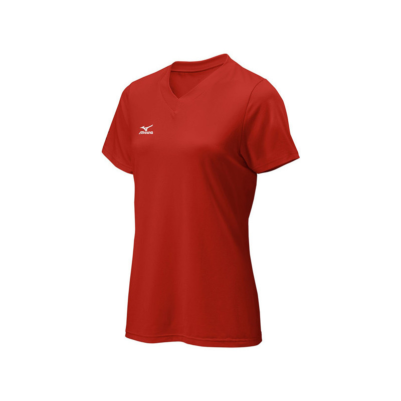 Mizuno Youth Attack Tee - Red