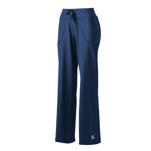 Mizuno Women's Elite 9: Straight Pant - Navy
