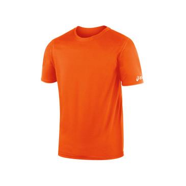 Asics Men's Circuit-7 Warm-Up Shirt - Orange