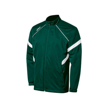 Asics Men's Jr. Surge Warm-Up Jacket - Forest