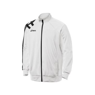 Asics Men's Stripe Jacket - White
