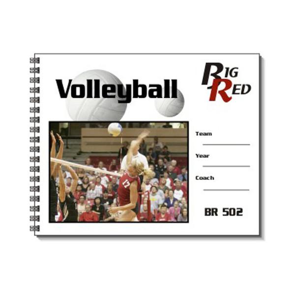 Big Red Volleyball Scorebook