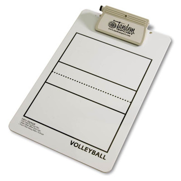 Coaches' Deluxe Volleyball Clipboard- Front