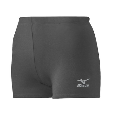 Mizuno Women's Vortex Hybrid Short - Charcoal