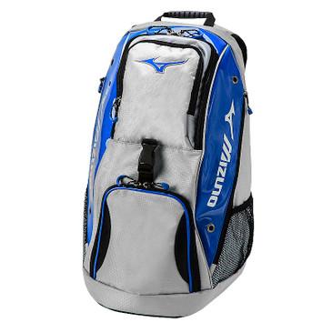Mizuno Tornado Backpack- Grey/Royal