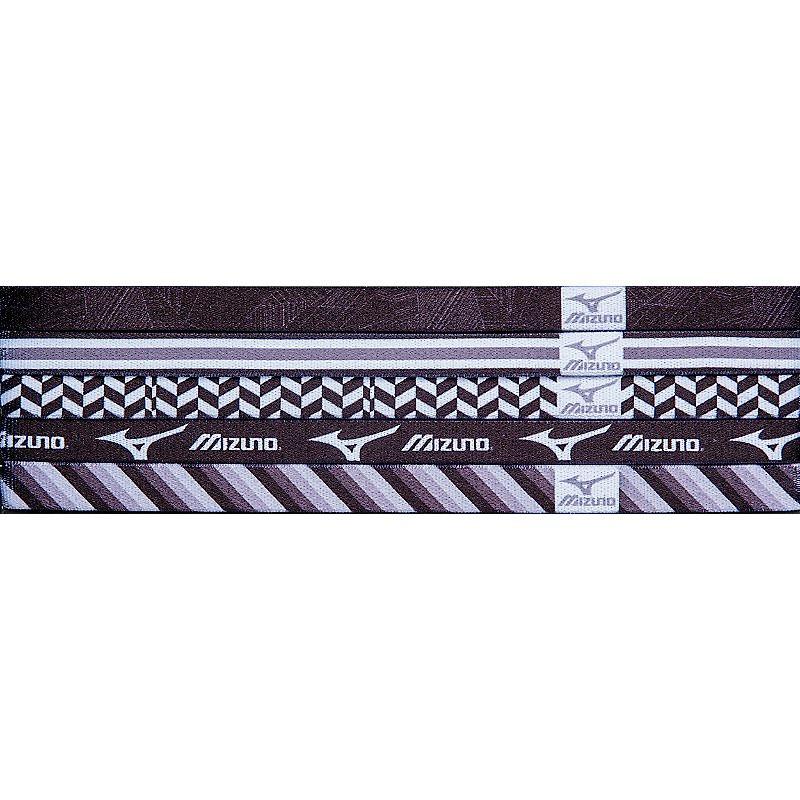 Mizuno Triumph Headbands- Black/Grey