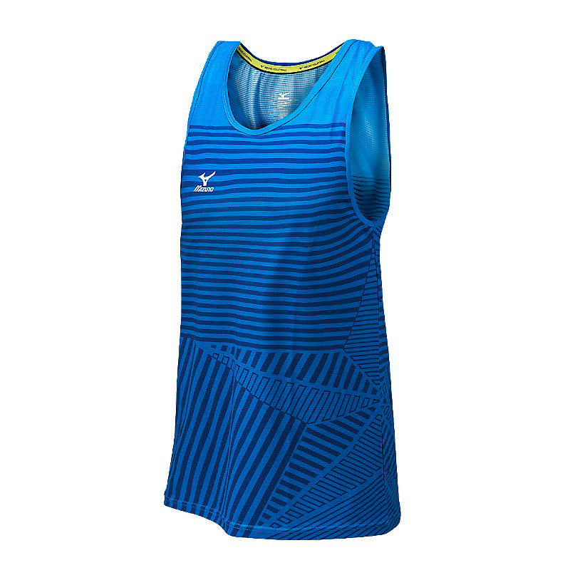 Mizuno Men's Pro Copa Tank - Royal