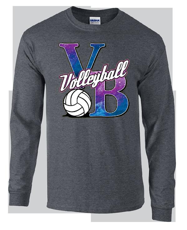 Galaxy VB LS T-Shirt - Grey