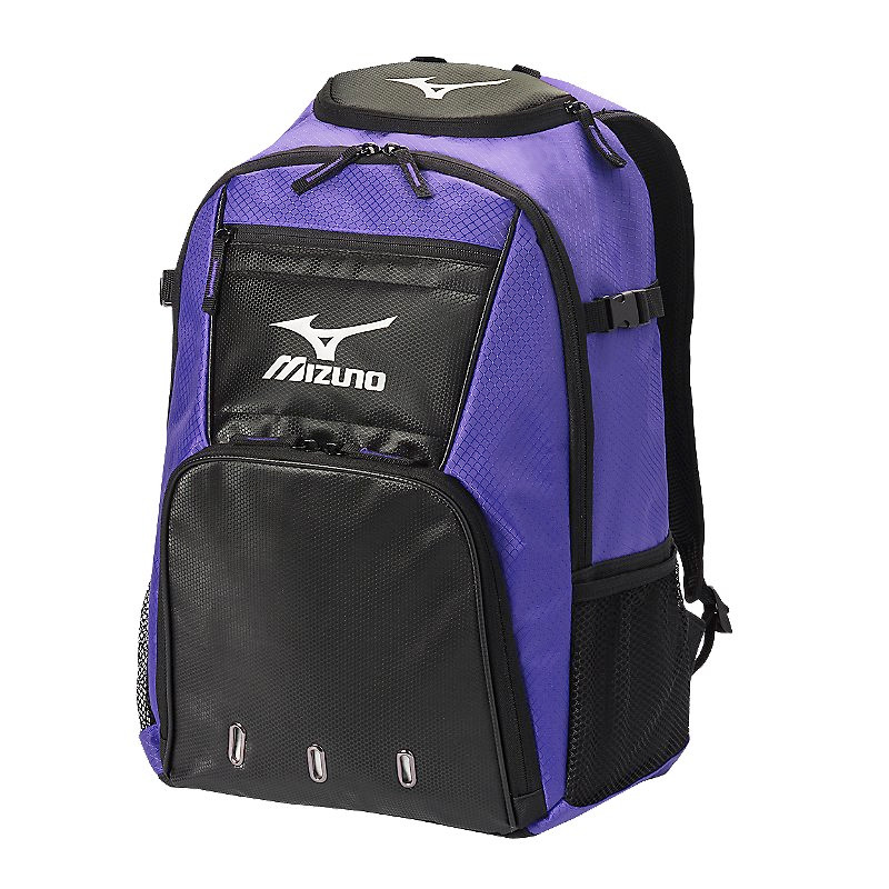 Mizuno Organizer G4 Backpack- Purple