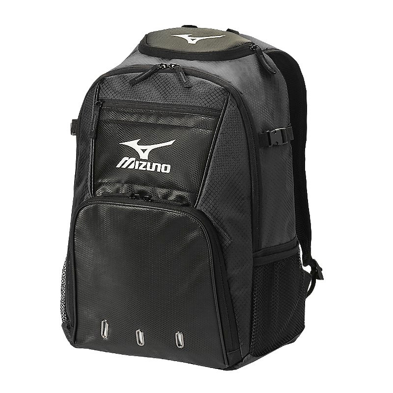 Mizuno Organizer G4 Backpack- Black