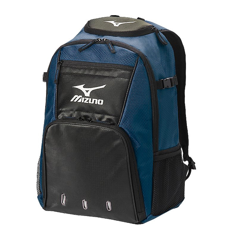 Mizuno Organizer G4 Backpack- Navy