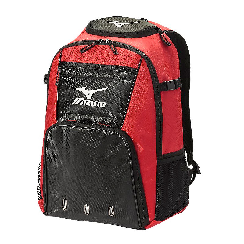 Mizuno Organizer G4 Backpack- Red