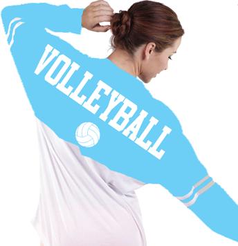 Two-Toned Billboard Jersey T-Shirt- Adult- Aqua