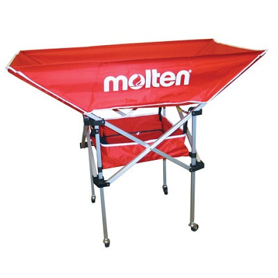 Molten Deluxe Series High Profile Hammock Ball Cart- Red