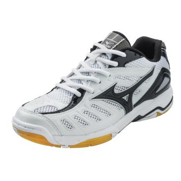 Mizuno Women's Wave Rally 4- White/Black