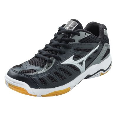 Mizuno Women's Wave Rally 4- Black/Silver