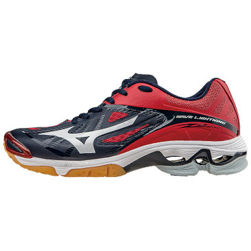 Mizuno Women's Wave Lightning Z2 - Black/Red