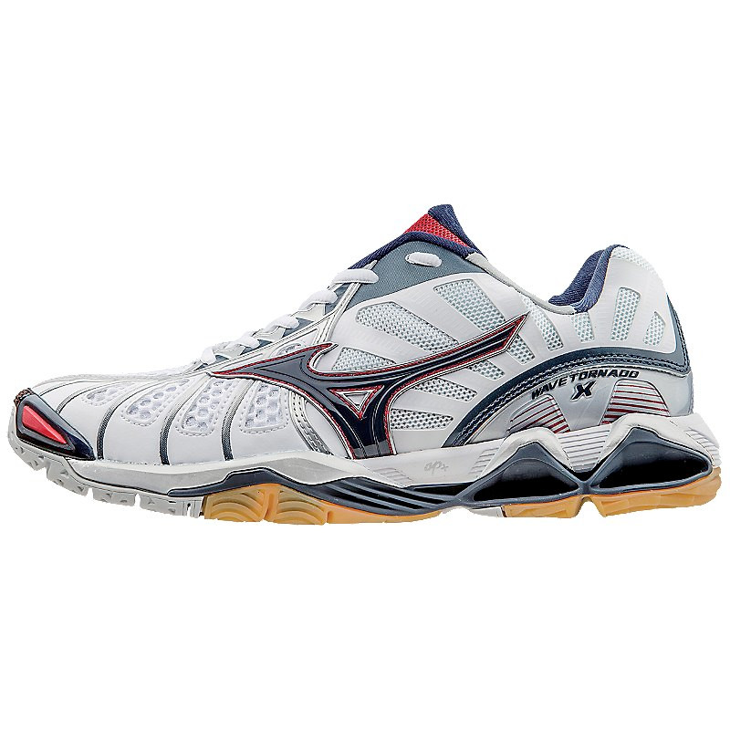 Mizuno Men's Wave Tornado X - White/Navy