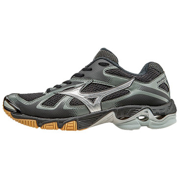 Mizuno Women's Wave Bolt 5- Black/Silver