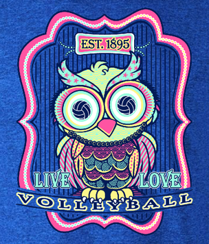 VB Owl LS T-Shirt- Full Front Design