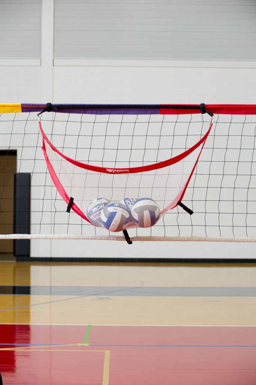 Pop-Up Volleyball Catcher- Net