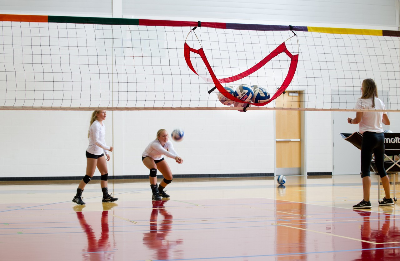 Pop-Up Volleyball Catcher- Players