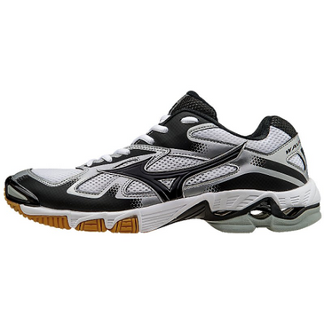 Mizuno Men's Wave Bolt 5- White/Black