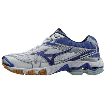 Mizuno Women's Wave Bolt 6 - White/Royal