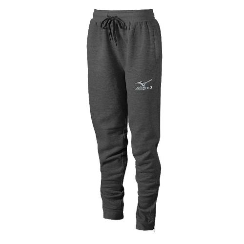 Mizuno Women's Jogger Pant- Heathered Charcoal
