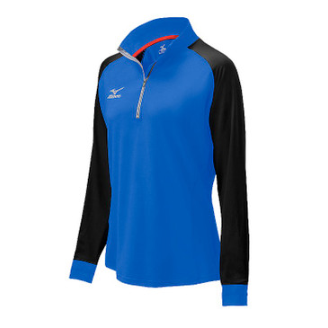 Mizuno Youth Elite 9 Prime 1/2 Zip Jacket - Royal/Black