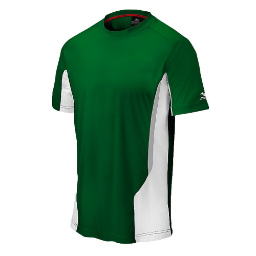 Mizuno Men's Elite Crew- Forest/White