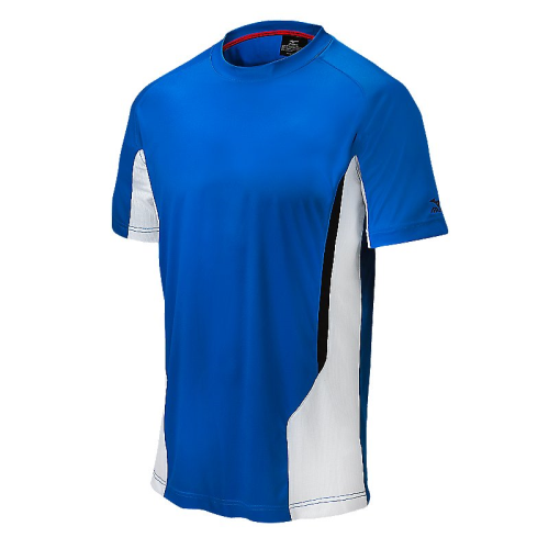 Mizuno Men's Elite Crew- Royal/White