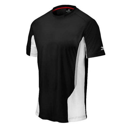 Mizuno Men's Elite Crew- Black/White
