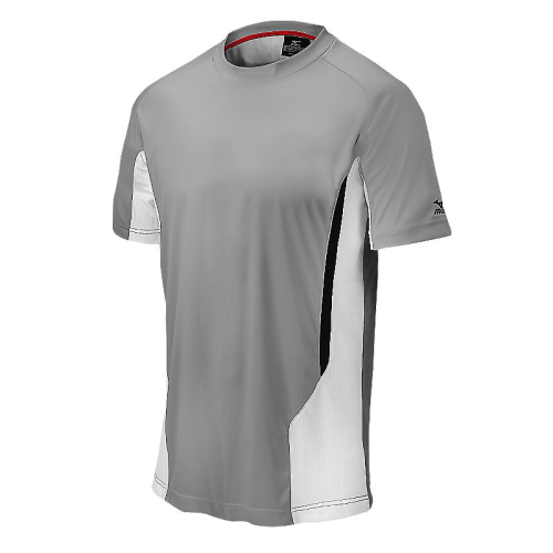 Mizuno Men's Elite Crew- Grey/White