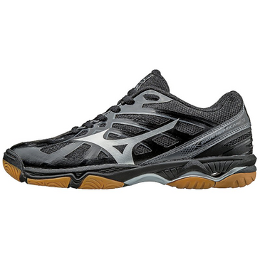 Mizuno Women's Wave Hurricane 3 - Black/Silver