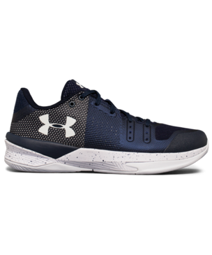 UA Block City Low Shoe- Navy