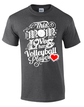 This Mom Volleyball SS