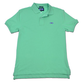 Men's Classic Boat Tie Polo Shirt - Green