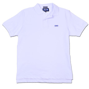 Men's Classic Boat Tie Polo Shirt - White