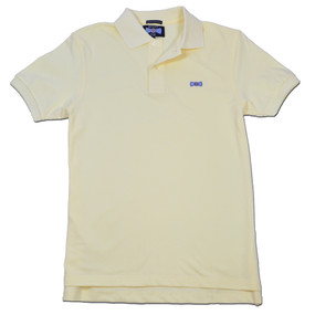 Men's Classic Boat Tie Polo Shirt - Yellow