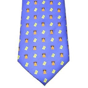 Bell of Rights Tie - Blue