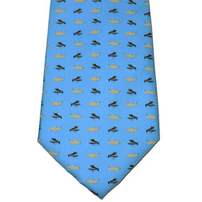 Fly Fishing Tie - Light Blue