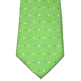 Tee Time Tie - Green