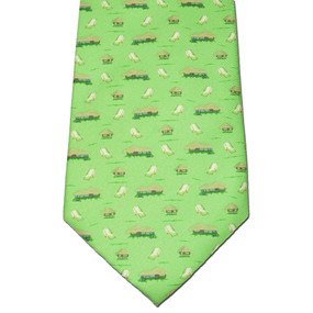 The Tiki Lounge Tie - Green