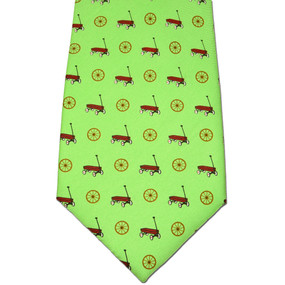 Wagon Wheel Tie - Green